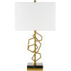 This item: Cosworth Gold One-Light Table Lamp