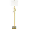 This item: Cosworth Gold 16-Inch One-Light Floor Lamp