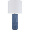 This item: Draven Blue One-Light Table Lamp
