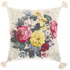 This item: Daphne Multi-Color and Beige 22-Inch Throw Pillow