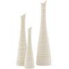 This item: Emily White Vases, Set of 3