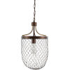 This item: Furrow Brown 12-Inch One-Light Pendant