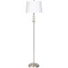 This item: Graham Silver One-Light Floor Lamp