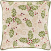 This item: Holly Berry Wheat 20-Inch Throw Pillow