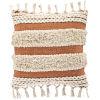 This item: Helena Khaki and Burnt Orange 18-Inch Throw Pillow