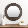 This item: Haveli Brown 28-Inch Wall Mirror