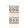 This item: Hygge Charcoal Wall Hanging