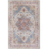 This item: Iris Ice Blue Rectangle 2 Ft. 3 In. x 3 Ft. 9 In. Rug