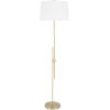 This item: Jace Brass 17-Inch One-Light Floor Lamp