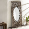 This item: Jodhpur Natural Full Length Floor Mirror