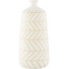 This item: Kisii White 14-inch Vase