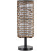 This item: Kitto Brown 8.25-Inch One-Light Floor Lamp