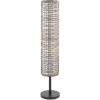 This item: Kitto Natural 9.25-Inch Two-Light Floor Lamp
