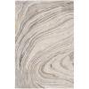 This item: Kavita Light Gray and Ivory Rectangular: 2 Ft. x 3 Ft. Rug