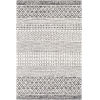 This item: La Casa Black Rectangle 5 Ft. 3 In. x 7 Ft. 3 In. Rug