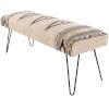 This item: Miriam Cream Bench