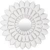 This item: Maneka White 15-Inch Wall Mirror