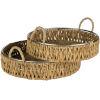 This item: Mekhi Natural Serveware Trays, Set of 2