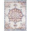 This item: Monaco Dark Red Rectangle 6 Ft. 7 In. x 9 Ft. 6 In. Rugs