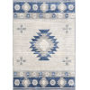 This item: Monaco Navy and Gray Rectangle 7 Ft. 10 In. x 10 Ft. 3 In. Rugs