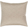This item: Messina Tan 22-Inch Pillow With Down Fill