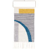 This item: Matisse Gray and Navy Wall Hanging