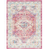 This item: Norwich Bright Pink Rectangle 6 Ft. 7 In. x 9 Ft. Rugs
