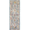This item: Norwich Blue Tan Runner 2 Ft. 7 In. x 7 Ft. 3 In. Rug