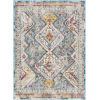 This item: Norwich Blue Tan Rectangle 7 Ft. 10 In. x 10 Ft. 3 In. Rug