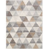 This item: Roma Medium Gray Rectangle 5 Ft. 3 In. x 7 Ft. 1 In. Rugs
