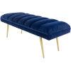 This item: Roxeanne Navy Bench
