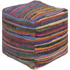 This item: Renzo Multicolor Pouf