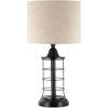 This item: Sekforde Black One-Light Table Lamp