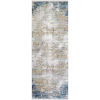 This item: Solar Sky Blue and Taupe Rectangular: 3 Ft. x 5 Ft. Rug