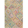This item: Serafina Multi-Color Rectangle 3 Ft. 3 In. x 5 Ft. 3 In. Rugs
