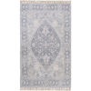 This item: Sivas Pale Blue and Camel Rectangular: 8 Ft. x 10 Ft. Rug