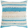 This item: Temara Aqua 22-Inch Pillow With Polyester Fill