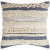 This item: Temara Navy 18-Inch Pillow With Polyester Fill