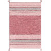 This item: Trenza Bright Pink Rectangle 4 Ft. x 6 Ft. Rugs