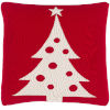 This item: Very Merry Bright Red 18-Inch Throw Pillow