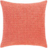 This item: Waffle Bright Orange 22-Inch Throw Pillow