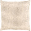 This item: Waffle Wheat 22-Inch Throw Pillow