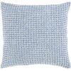 This item: Waffle Denim 22-Inch Throw Pillow