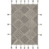 This item: Zanafi Tassels Black and Beige Rectangular: 8 Ft. x 10 Ft. Rug