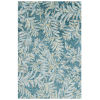 This item: Breezy Teal Wool Rectangular: 3 Ft x 5 Ft Area Rug