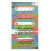 This item: Kokomo Multicolor Polyester Rectangular: 3 Ft x 5 Ft Outdoor Area Rug