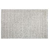 This item: Pebbles Gray Polyester Rectangular: 3 Ft x 5 Ft Outdoor Area Rug
