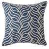 This item: Bryce Navy 22-Inch Cotton Throw Pillow