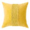 This item: Topaz Gold 22-Inch Cotton Velvet Throw Pillow