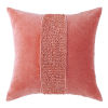 This item: Topaz Newport Red 22-Inch Cotton Velvet Throw Pillow